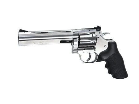 ASG Dan Wesson 715 -revolveri CO2, 6 tuumaa, hopea (6 inch), Low power