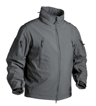 Helikon Gunfighter Soft Shell -takki, Shadow Grey
