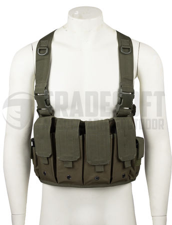 Mil-Tec Mag Carrier chest rig, OD